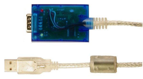 UCAB232 - blue box and USB connector
